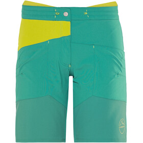 La Sportiva TX Shorts Women emerald/citronelle